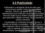 4 5 publicidade