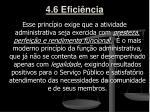 4 6 efici ncia