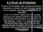 6 3 dever de probidade