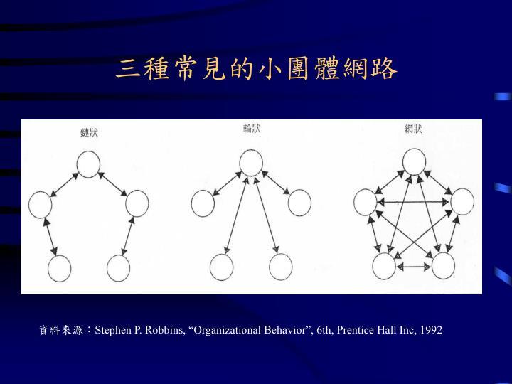 三種常見的小團體網路