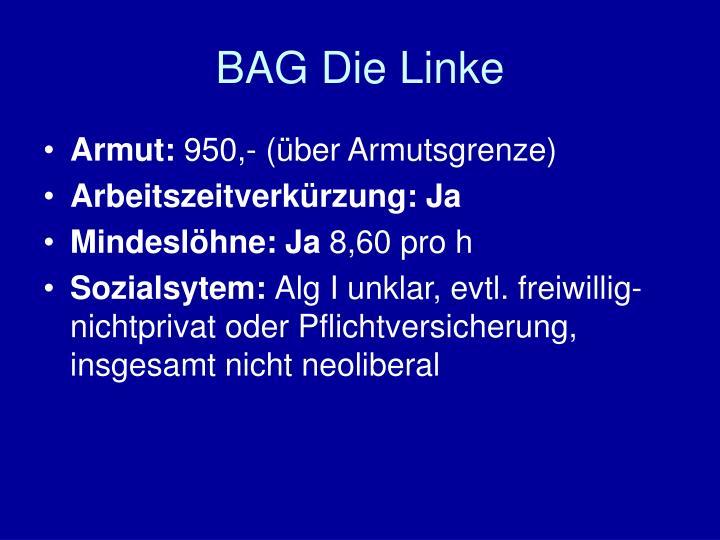 BAG Die Linke