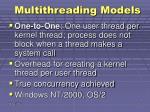 multithreading models1