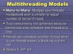 multithreading models2