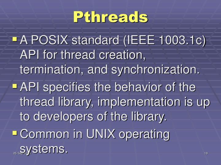 Pthreads