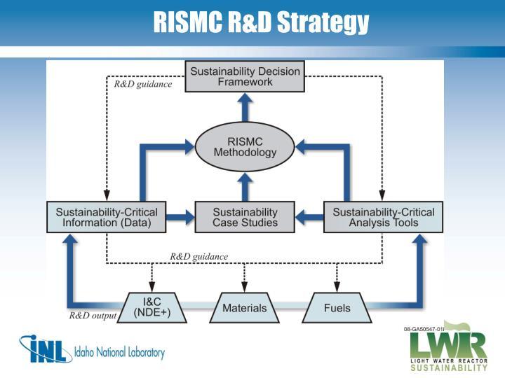 RISMC R&D Strategy