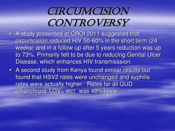CIRCUMCISION CONTROVERSY