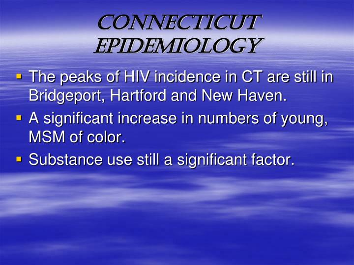 CONNECTICUT EPIDEMIOLOGY