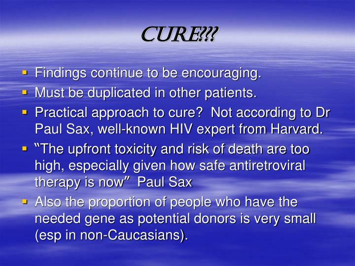 CURE???
