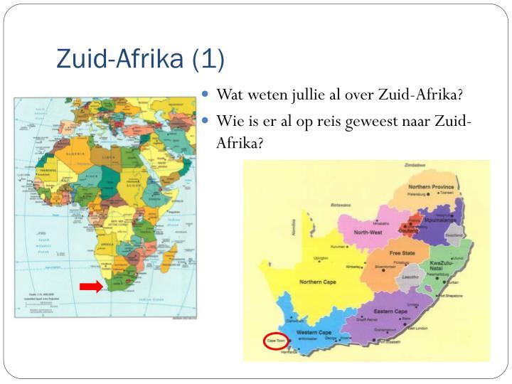 Zuid-Afrika (1)