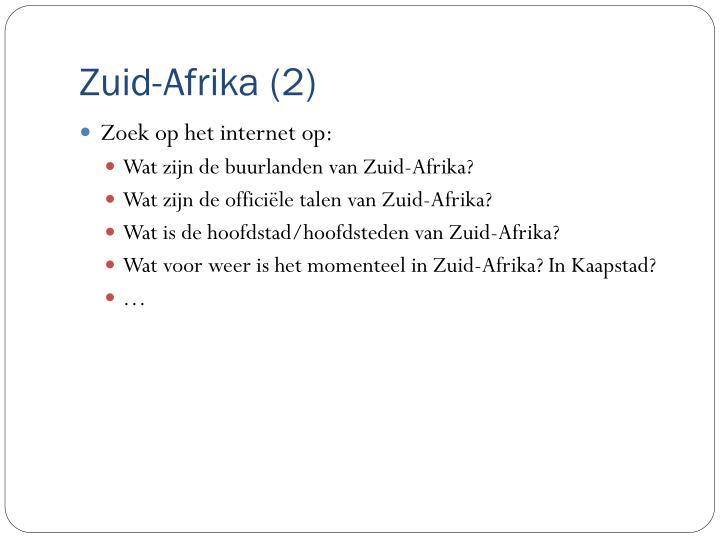 Zuid-Afrika (2)