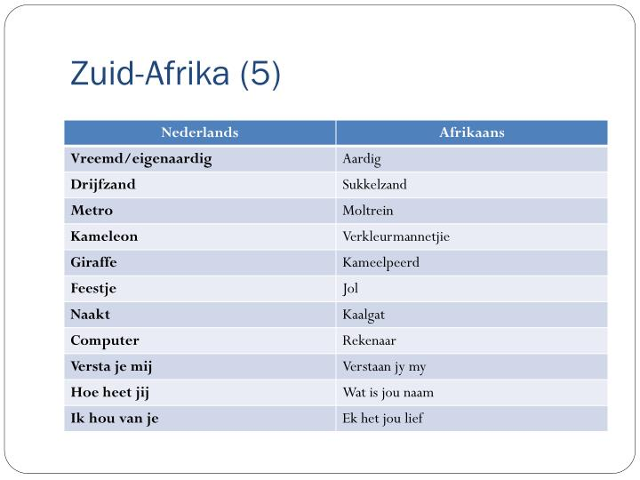 Zuid-Afrika (5)