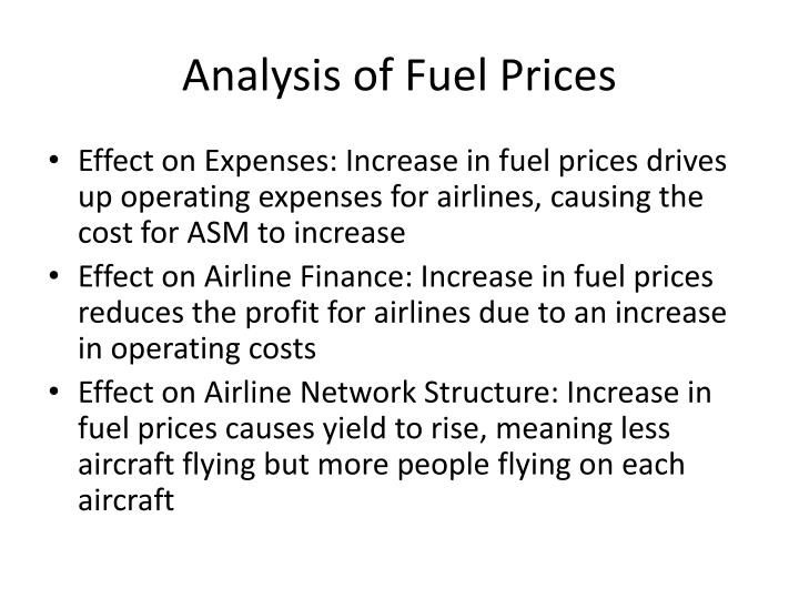 Analysis of Fuel Prices