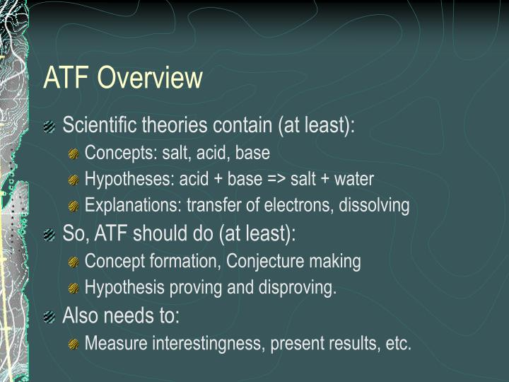 ATF Overview