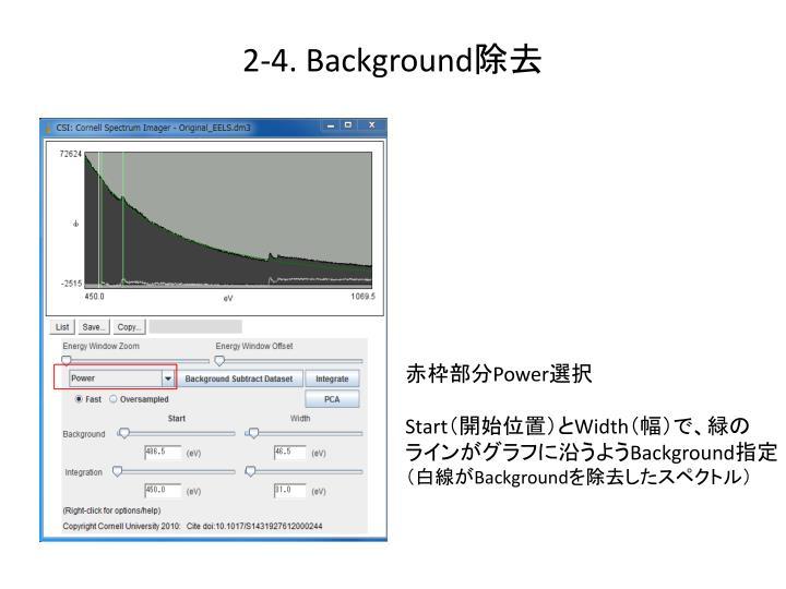 2-4. Background