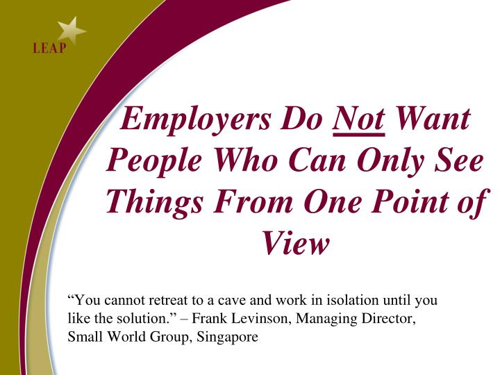Employers Do