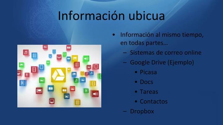 Información ubicua
