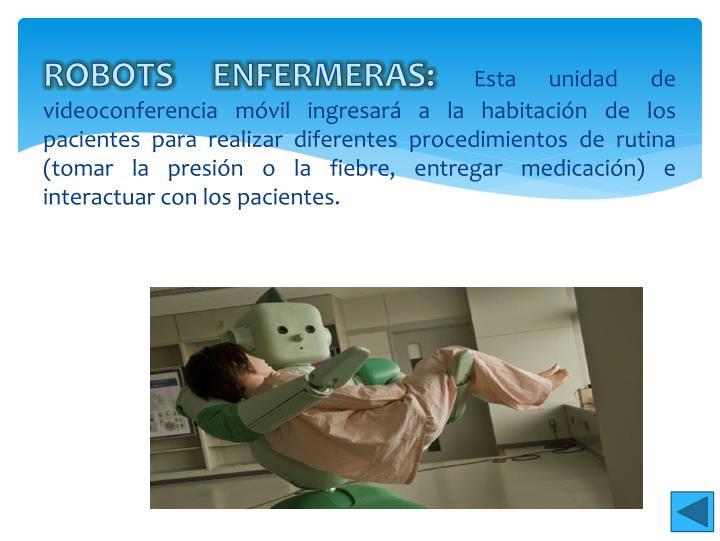 ROBOTS ENFERMERAS: