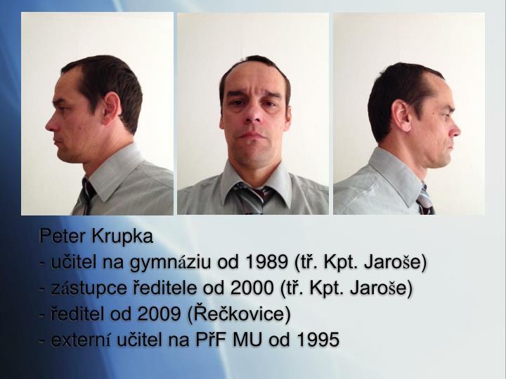Peter Krupka