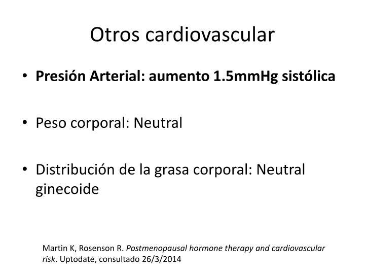 Otros cardiovascular