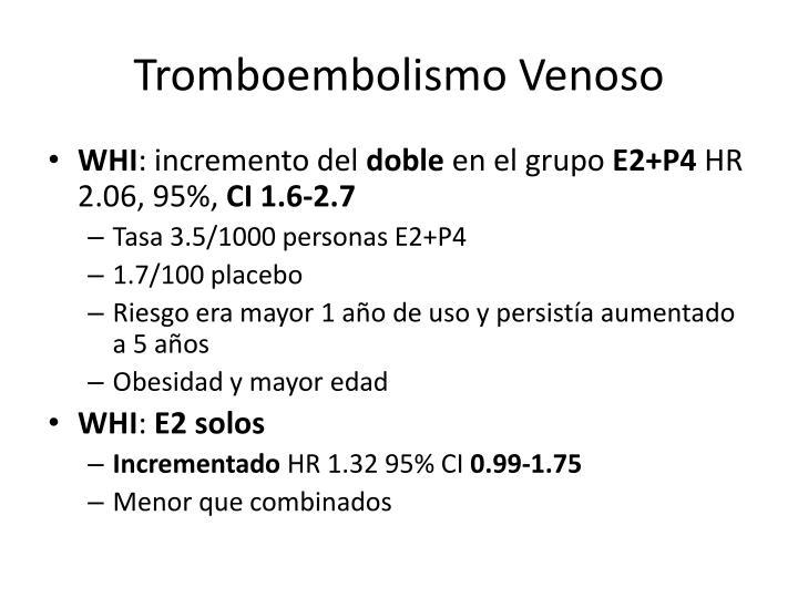 Tromboembolismo