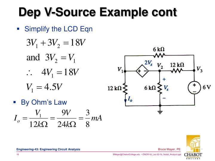 Simplify the LCD Eqn