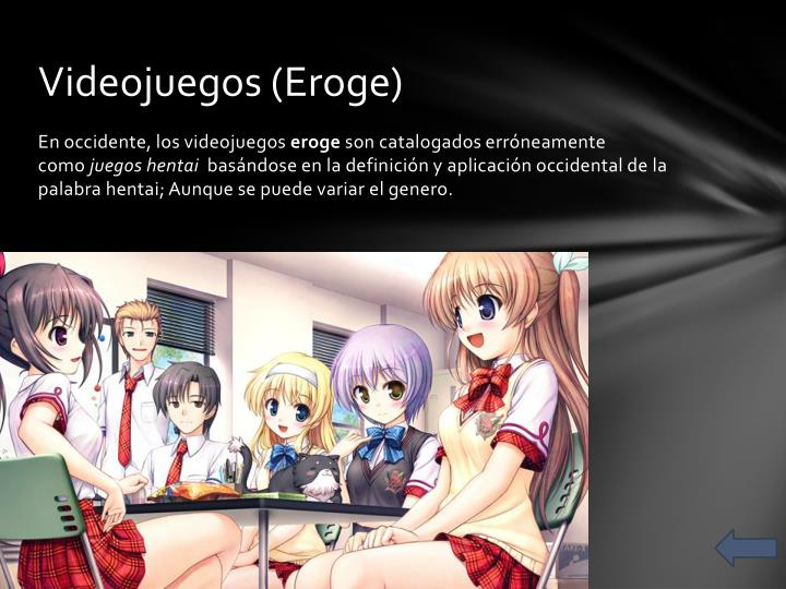 Videojuegos (