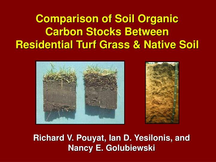 Comparison of Soil Organic