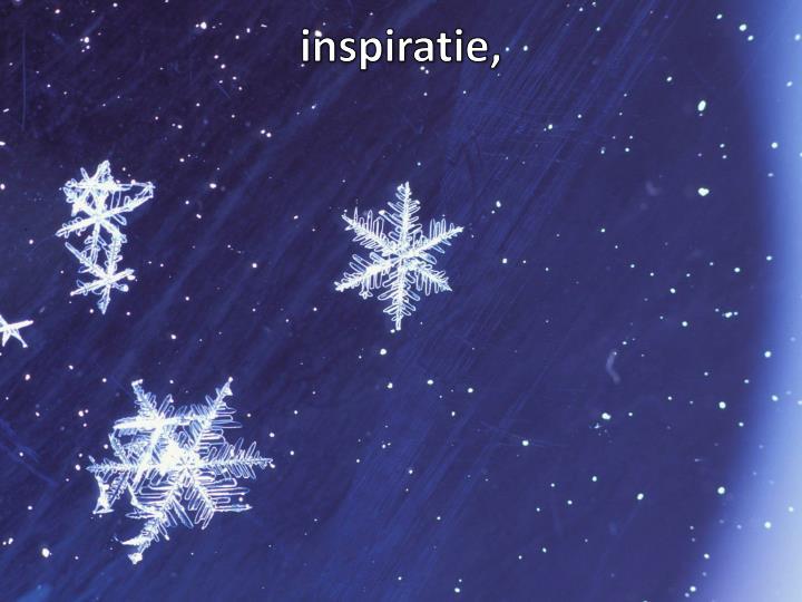 inspiratie,