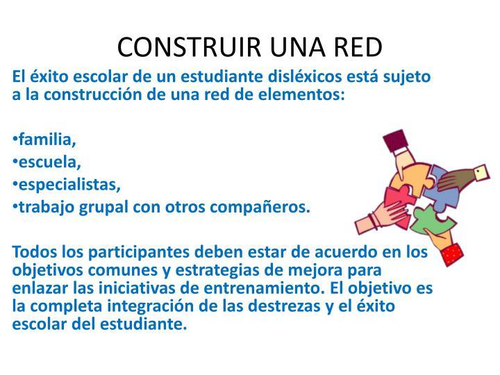 CONSTRUIR UNA RED
