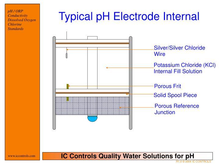 Typical pH Electrode Internal