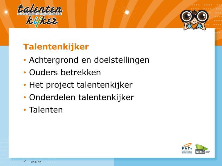 Talentenkijker