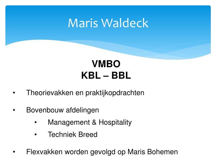 Maris Waldeck