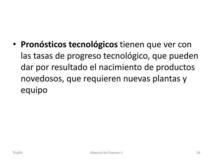 Pronósticos tecnológicos