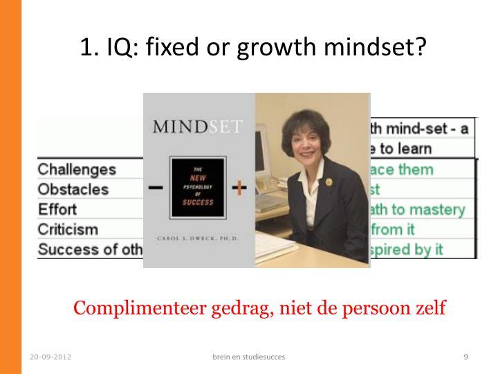 1. IQ: