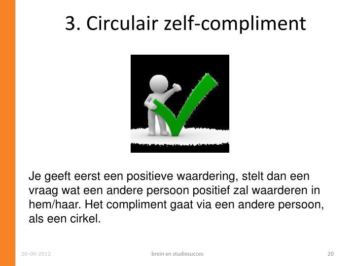 3. Circulair zelf-compliment