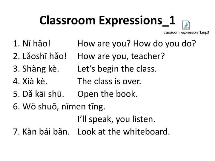 Classroom Expressions_1