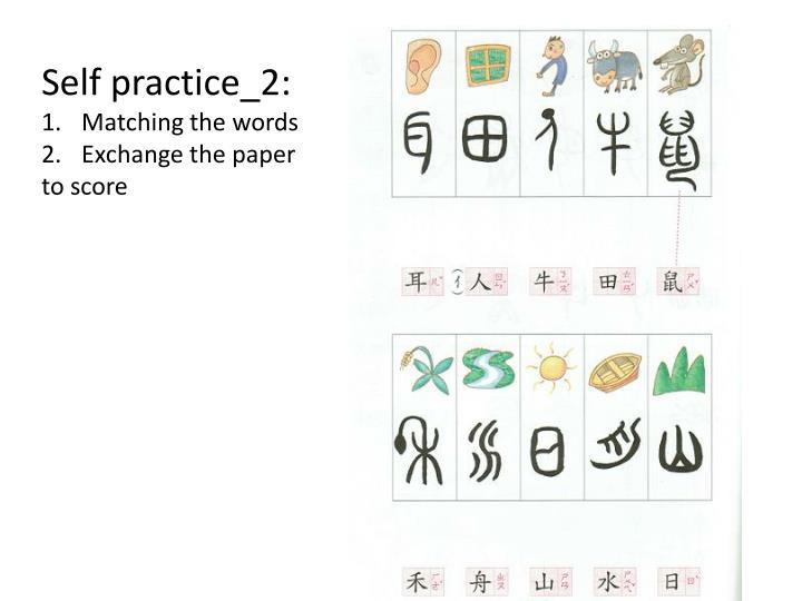 Self practice_2: