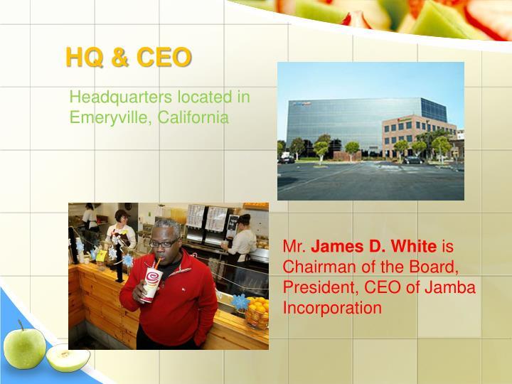HQ & CEO