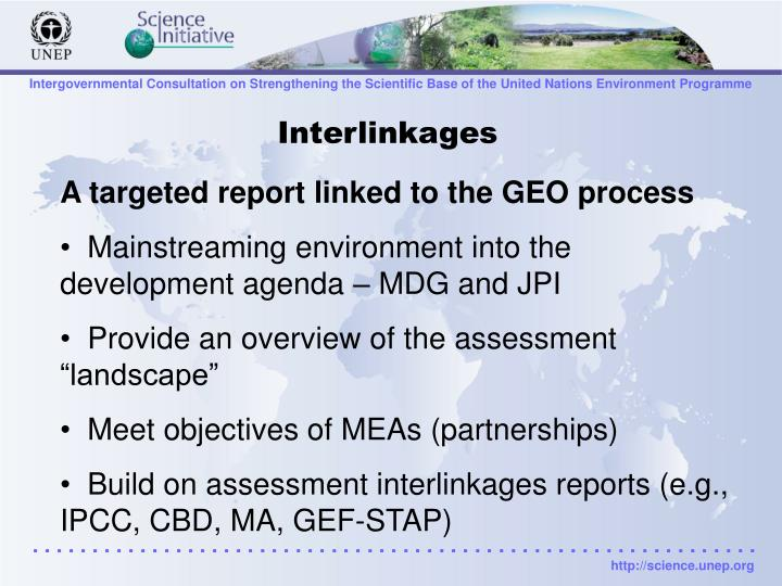 Interlinkages