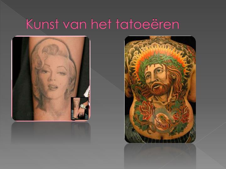 Kunst van het tatoeëren
