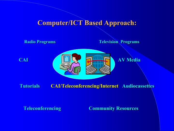 Computer/ICT Based Approach: