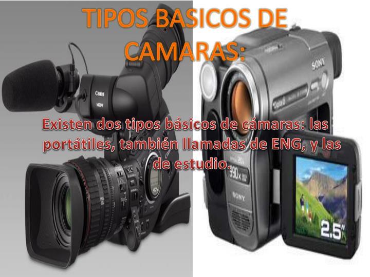 TIPOS BASICOS DE CAMARAS: