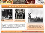 guerra de trincheras 1915 1917