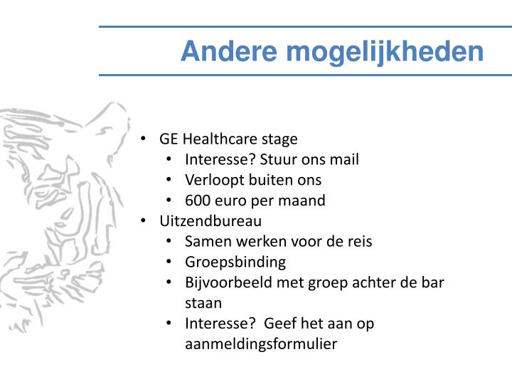 GE Healthcare stage