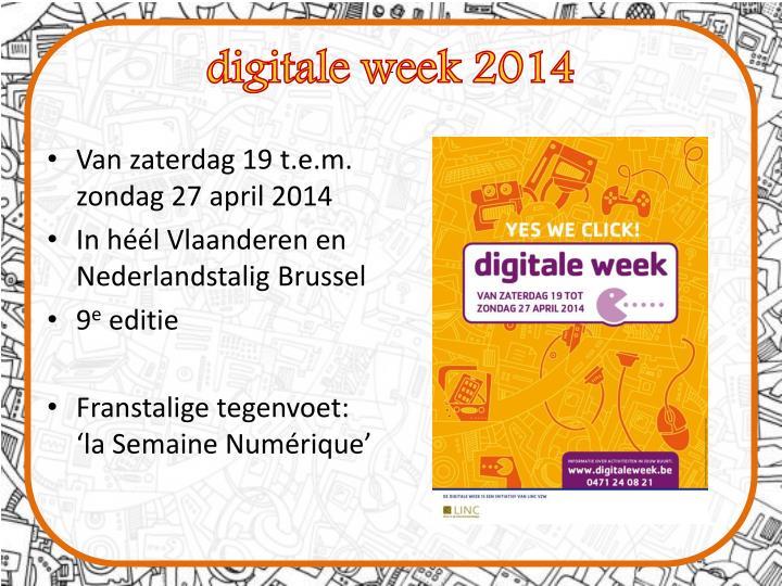 digitale week 2014