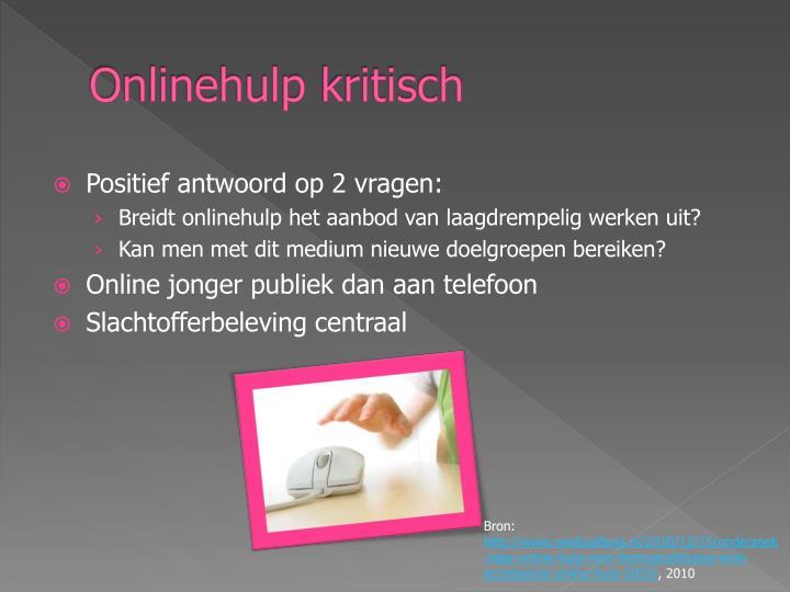 Onlinehulp