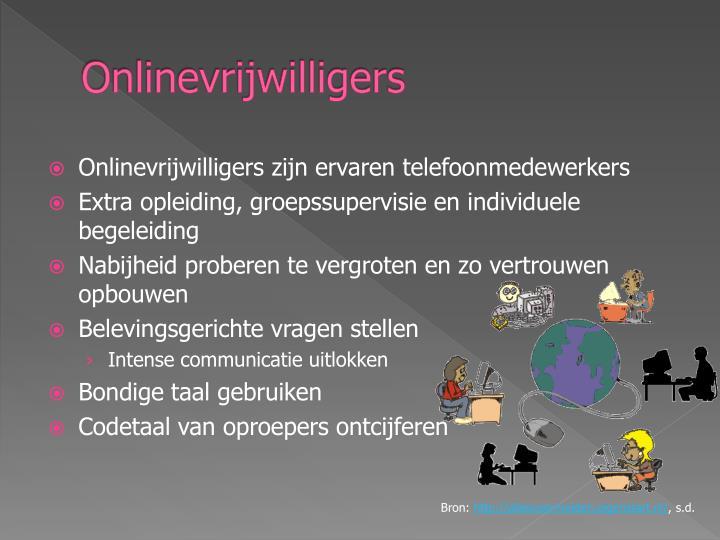 Onlinevrijwilligers