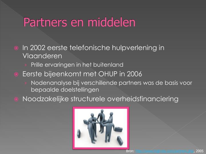 Partners en middelen
