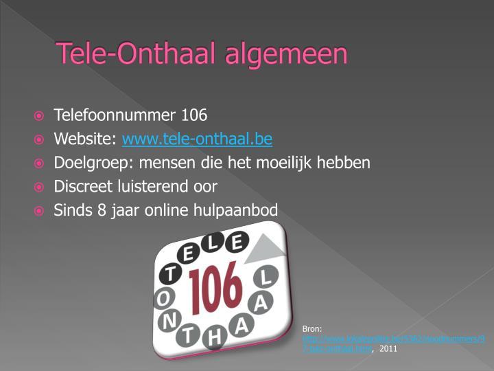 Tele-Onthaal
