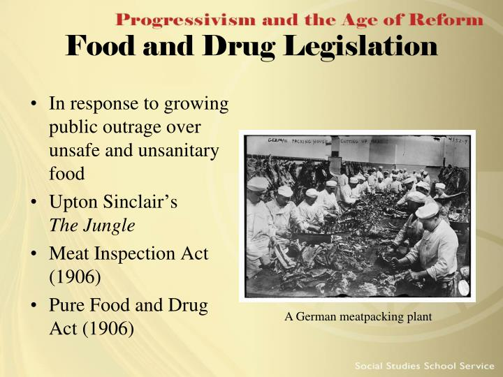 Food and Drug Legislation